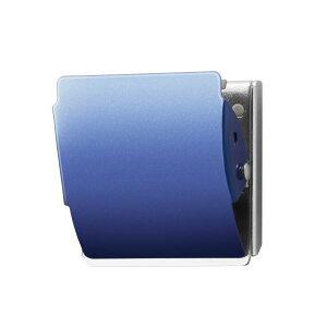 プラス マグネットクリップCP-047MCR L ブルー10個