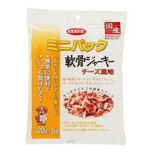 (まとめ) ミニパック 軟骨ジャーキー チーズ風味 100g 【×6セット】 (ペット用品・犬用フード)