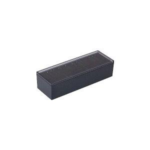 (まとめ)キングジム 名刺整理箱 約1000枚収納黒 75 1個 【×5セット】