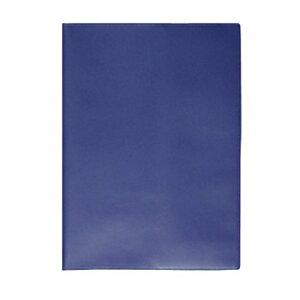 コレクト ノートカバー本革調(合成皮革製) A4判 CP-44X-BL ブルー