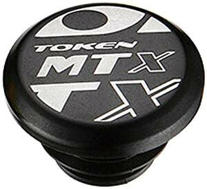 TOKEN TK267 MTX バーエンド キャップ ブラック