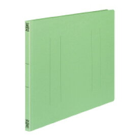 コクヨ フラットファイルV樹脂製とじ具A3横 15mmとじ 緑 (フ-V48G) ****** 販売単位 1セット(10個入)*****