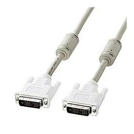 サンワサプライ DVIケーブル(シングルリンク、1m) 品番:KC-DVI-1K
