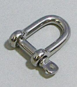 水上金属 ファースト チェーンパーツ ステンレスシャックル 4mm SH-4 【969-0664】