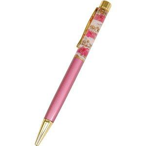 ハーバリウムボールペン ピンク ZA-334