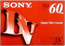 ミニDVカセット60分 DVM60R3 【 ソニー 】 【 ビデオ・MD・CD 】