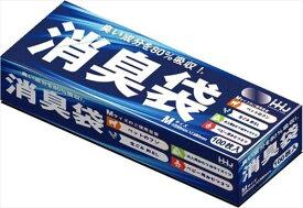 AS05 消臭袋Mサイズ 100枚 【 ハウスホールドジャパン 】 【 ポリ袋・レジ袋 】