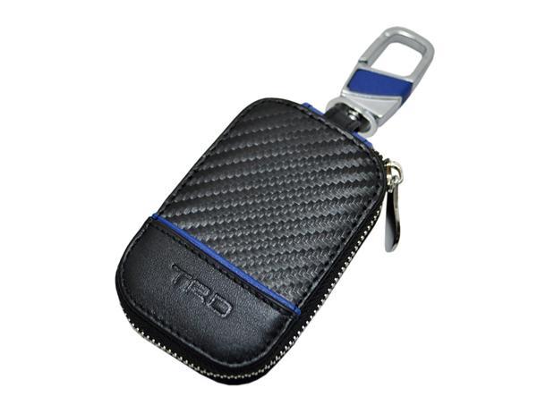 TRD カーボン柄シリーズ G2:TRD #08395 スマートキーケース カラー【ブラック】