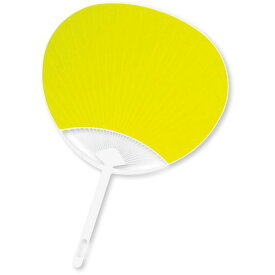 カラーうちわ 38077 黄