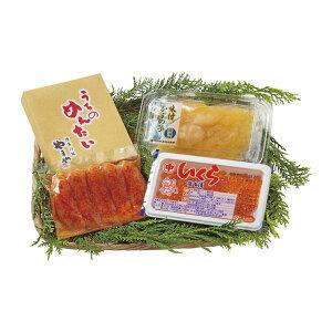 北海道産いくらとやまや明太子・味付け数の子 詰合せ 2737-35【直送品】【SG便】