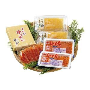 北海道産いくらとやまや明太子・味付け数の子 詰合せ 2739-50【直送品】【SG便】