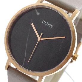 クルース CLUSE 腕時計 レディース CL40006 クォーツ ブラックマーブル グレー ブラックマーブル(バンド調整器付)