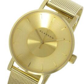 クラス14 KLASSE14 ヴォラーレ Volare 36mm レディース 腕時計 VO14GD002W ゴールド ゴールド(バンド調整器付)