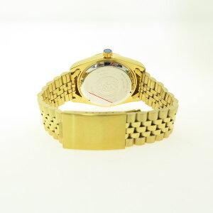 エルジンELGIN腕時計メンズFK1428G-CLオートマチック自動巻き天然貝パール文字盤ゴールド