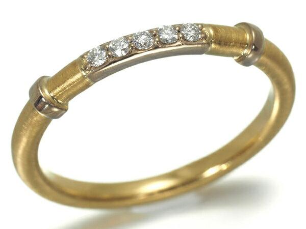 アウフィーノ リング 指輪 ダイヤ ダイヤモンド K22YG 10.5号【中古】BLJ/GENJ