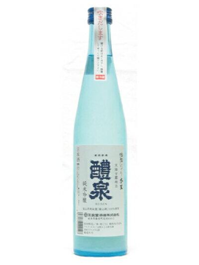 醴泉(れいせん)純米吟醸 本生活性にごり 500ml12本セット 送料無料 醴泉