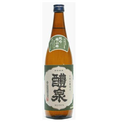 醴泉(れいせん)純米吟醸 純吟 雄山錦 720ml