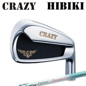 CRAZY HIBIKI Iron Fire Express Premium Version I-55クレイジー ヒビキ アイアン ファイアーエクスプレス プレミアムバージョン I-556本セット(#5〜PW)