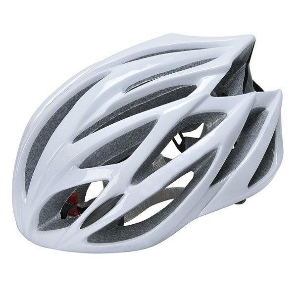 【アウトレット】 自転車サイクルヘルメット 大人用 マウンテン クロス ロードバイク用 54cm-62cm LEDライト付 AUGYMER j2253