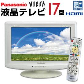 【中古】 Panasonic VIERA ビエラ 液晶テレビ 17型 17インチ 地デジ HDMI ゲーム専用に BS/CS TH-L17X10PS(L17X1PS)(L17X1) tv-074 j1705