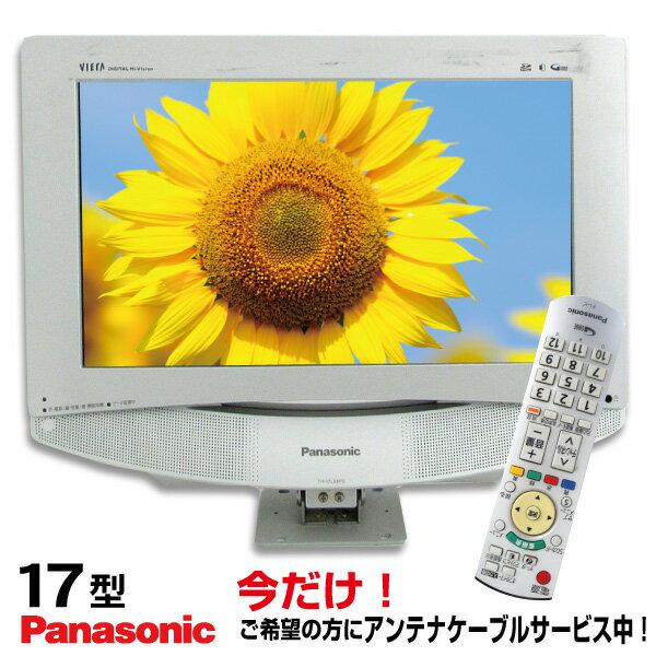 【中古】 Panasonic パナソニック VIERA ビエラ 液晶テレビ 17型 17インチ 地デジのみ TH-L17X8PS tv-087-j1728