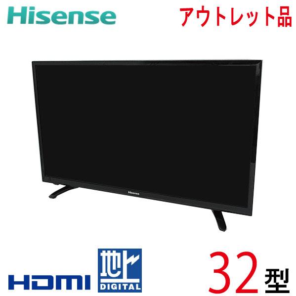 【中古】 Hisense ハイセンス 液晶テレビ 32型 32インチ 新古品 HJ32K3120 tv-253