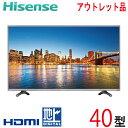 【中古】 Hisens ハイセンス 液晶テレビ 40型 40インチ 大型 新古品 HS40K225 tv-254