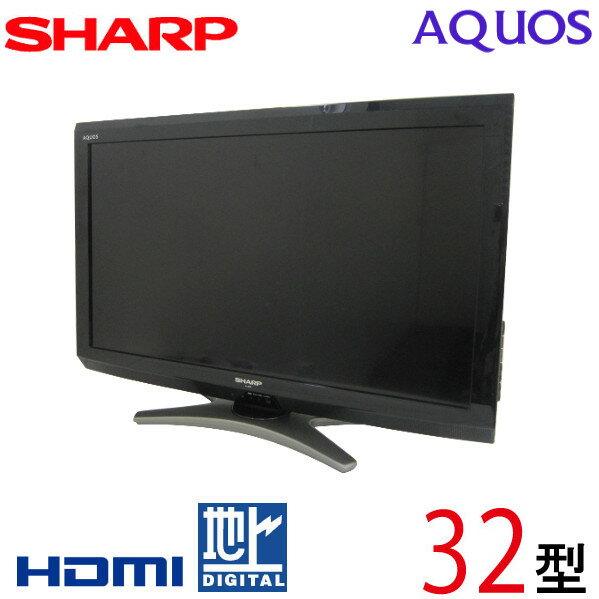 【中古】 SHARP シャープ AQUOS アクオス 液晶テレビ 32型 32インチ 地デジ BS CS 2010年製 Cランク LC-32E8 tv-284