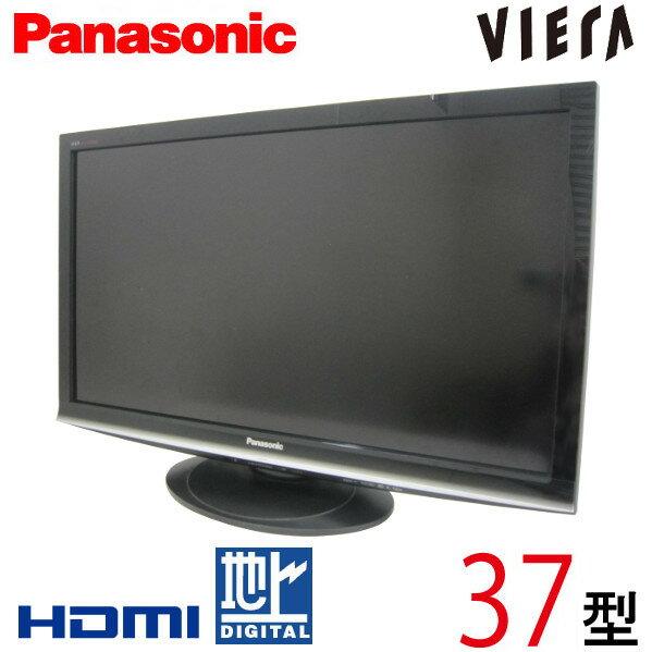 【中古】 Panasonic パナソニック VIERA ビエラ 液晶テレビ フルハイビジョン 37型 37インチ 地デジ BS CS 2009年製 Cランク TH-L37G1 tv-288