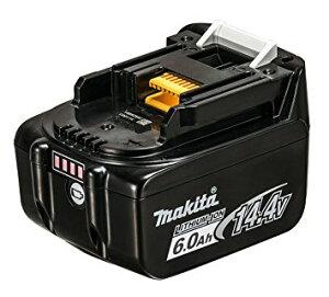 新登場 日本仕様 マキタ純正 (正規品)バッテリー BL1460B 14.4V 6.0Ah リチウムイオン電池 残容量表示付 高容量 わけあり