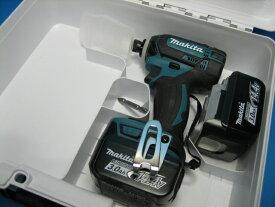 【特別セット】マキタ充電インパクトドライバ TD138DZ(青)14.4V 本体・バッテリー2個・ケースセット