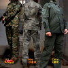 Camouflage clothing SHENKEL combat clothing sabage camouflage outfit on under & helmet various other United States Army Woodland woodland camouflage survival game dress