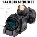 1倍/4倍切替 ELCAN SPECTOR DR スコープ&DOCTERサイト レプリカセット エルカン スペクター ドクター ドットサイト B…