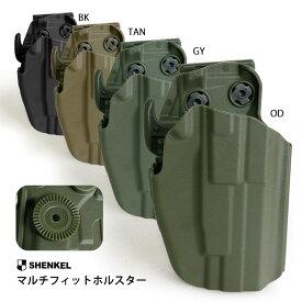 サファリランド 579 GLS タイプ ハンドガン用 ホルスター コンパクト Gen2 OD/タン/ブラック/グレー サバイバルゲーム サバゲー 装備