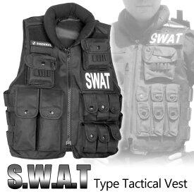 SHENKEL SWAT 13ポケット 戦術ベスト タクティカルベスト アーマー v10 コスプレ 警察 特殊部隊 アメリカ軍 ハロウィン スワット サバゲー サバイバルゲーム 装備 メンズ レディース 服 服装 女性 防弾チョッキ 大きいサイズ