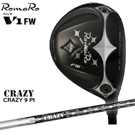RomaRo/ロマロ/Ray V-V1-FW/フェアウェイウッド/CRAZY_9_Pt/CRAZY/クレイジー/カスタムクラブ/代引NG