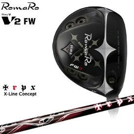 RomaRo/Ray V-V2-FW/ロマロ/フェアウェイウッド/X-Line_Concept/TRPX/トリプルエックス/カスタムクラブ/代引NG