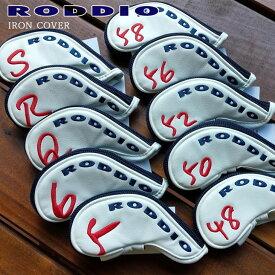 RODDIO(ロッディオ)/IRON_HEAD_COVER/番手#5/6/48/50/52/56/58/Q/R/S/単品アイアン用ヘッドカバー/番手別アイアン用
