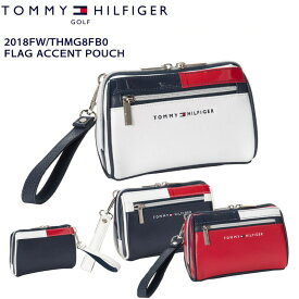 【2018FW/TOMMY_HILFIGER/トミーヒルフィガー】【THMG8FB0】【FLAG_ACCENT_POUCH/フラッグアクセントポーチ】【05P18Jun16】
