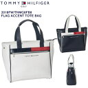 【2018FW/TOMMY_HILFIGER/トミーヒルフィガー】【THMG8FB8】【FLAG_ACCENT_TOTE_BAG/フラッグアクセントトートバッグ…