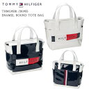 2019SS/TOMMY_HILFIGER/トミーヒルフィガー/THMG9SB1/ENAMEL_ROUND_TOTE_BAG/トートバッグ【05P18Jun16】