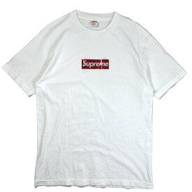 【中古】Supreme シュプリーム 3D Holographic Box Logo Tee 06AW ホログラフィック ボックスロゴ Tシャツ L ホログラム Hologram 白 メンズ レディース