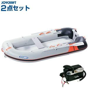 9月下旬入荷予定 ジョイクラフト ワンダーマグ280 4人乗りゴムボート HSセット
