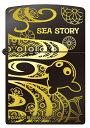 【送料無料】 海物語 プレミアム ZIPPO [ブラック] ジッポ ライター クジラッキー パチンコ キャラクター グッズ