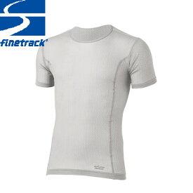 クーポン利用で10%OFF 7/26まで finetrack ファイントラック メンズ スキンメッシュ T Col:PA Tシャツ アンダーウエア スポーツ 吸汗 速乾 撥水:FUM0412