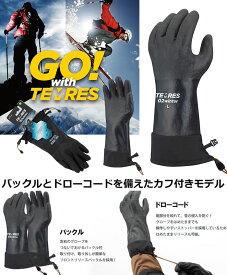 エントリーでポイント10倍!SHOWA GLOVE ショーワグローブ テムレス TEMRES 02 winter 黒 ブラック アウトドア 防寒 防水 グローブ 手袋 (ブラック):TEMRES02