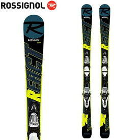 ROSSIGNOL ロシニョール 19-20 スキー 2020 MINI REACT 123 + (XPRESS 10 金具付き) ミニリアクト 123 スキー板 ショートスキー ファンスキー :RRIJP01
