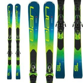 エントリーでポイント10倍!ELAN エラン 19-20 スキー 2020 SL Fusion X SLフュージョンX (金具付き) SL レーシング スキー板 (onecolor):