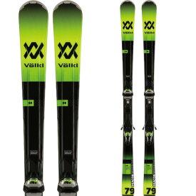 VOLKL フォルクル 19-20 スキー 2020 DECON 79 ディーコン 79 (金具付き) スキー板 オールマウンテン [SKI]