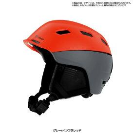 ポイント10倍 2/25AMまで!MARKER マーカー 19-20 AMPIRE アンパイア ABS 軽量 ヘルメット (グレーレッド):169904